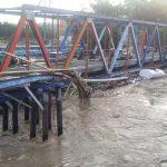 Aliran Sungai Cisadane Meluap Dan Merendam Rumah Warga Sekitar