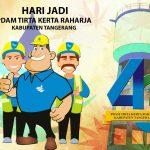 Perayaan Hut PDAM Tkr Kab.Tangerang Yang Ke 43