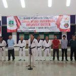Ujian Kenaikan Tingkat Sabuk Hitam Pengprov Banten 3-4 agustus 2019