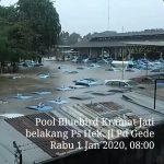 Banjir Menyebabkan Beberapa Kawasan Jabodetabek Terendam