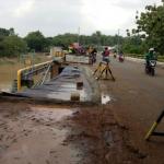 Jembatan Penghubung Gading Serpong Dan Rumah Sakit Assobirin Di Tutup