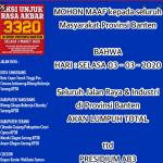 Demo Buruh Tolak Omnibus Law Banten 3 Maret 2020