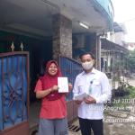 Pembagian Formulir Pendaftaran PERUMDAM Tkr Kabupaten Tangerang Di Perumahan Hijau Lestari
