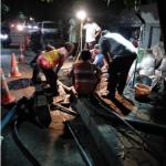 Kebocoran Pipa Perumdam TKR Di Jl Imam Bonjol Karawaci Tangerang