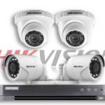 Daftar Harga Paket Pemasangan CCTV Paket Hikvision 5MP