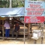 Tempat Wisata Pemandian Air Panas Desa Way Urang Kecamatan Padang Ceremin