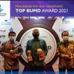 Perumdam Tkr Raih Peghargaan Top Of The Top Level Bintang 5